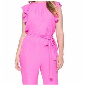 Final markdown Eloquii pink jumpsuit